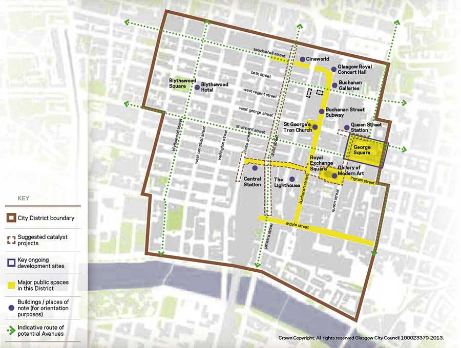 Central Glasgow City Centre Strategy