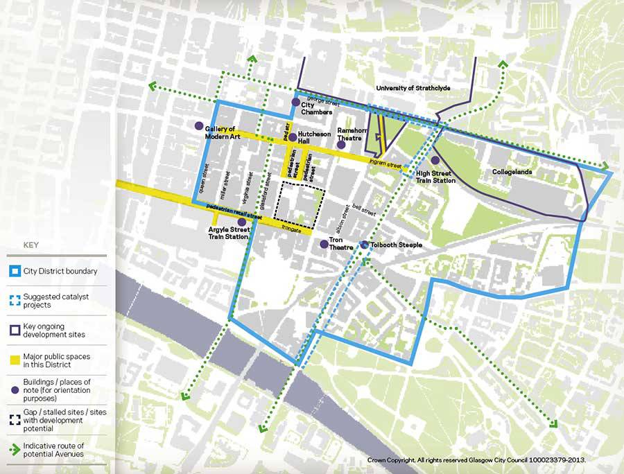 Merchant City Glasgow City Centre Strategy