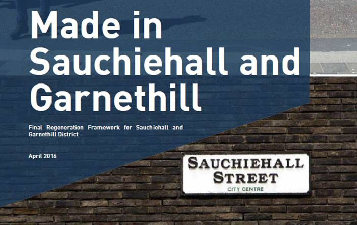 SAUCHIEHALL AND GARNETHILL DISTRICT REGENERATION FRAMEWORK APPROVED