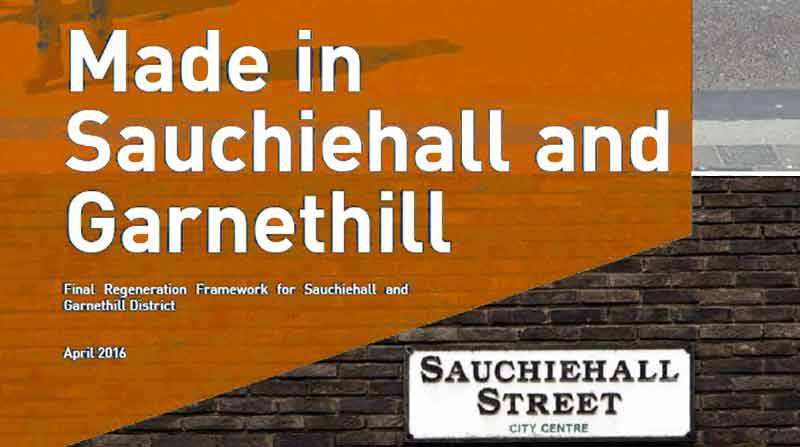 SAUCHIEHALL AND GARNETHILL DISTRICT REGENERATION FRAMEWORK