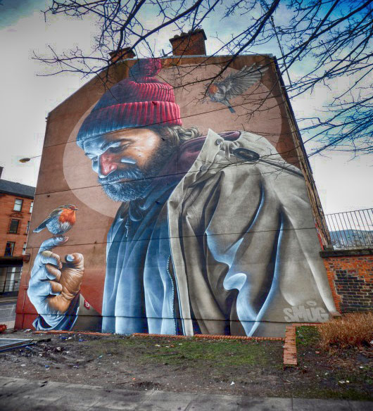 """St Mungo"" by Smug, in High Street"
