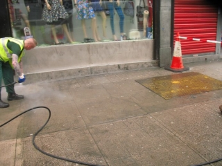 Glasgow City Centre - Clean Streets Initiative:before