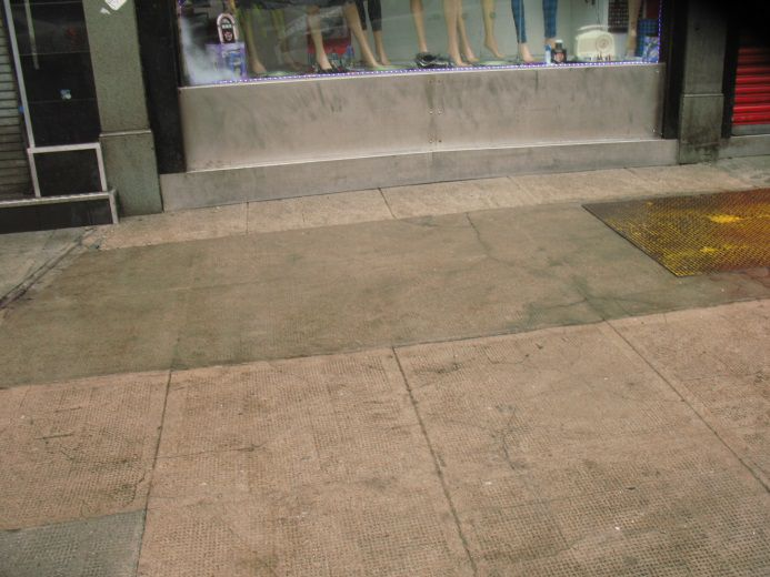 Glasgow City Centre - Clean Streets Initiative - after