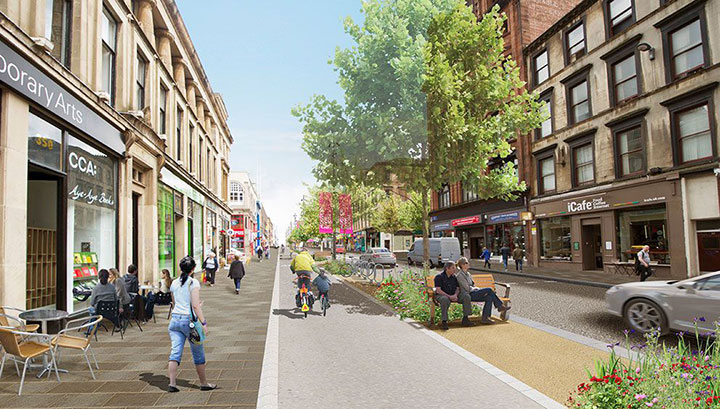 SAUCHIEHALL STREET IS CHANGING …