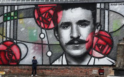 NEW MURAL – CHARLES RENNIE MACKINTOSH
