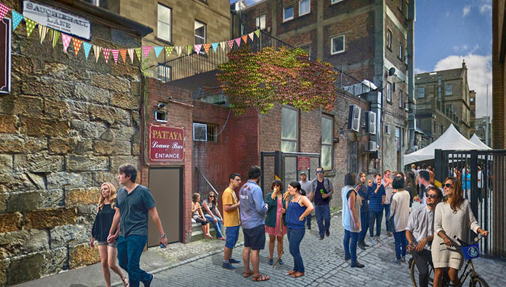 Sauchiehall Lane - Proposal