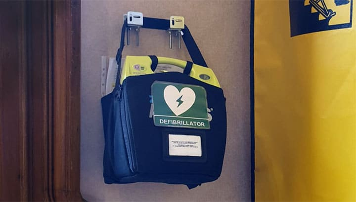 CITY CENTRE DEFIBRILLATORS