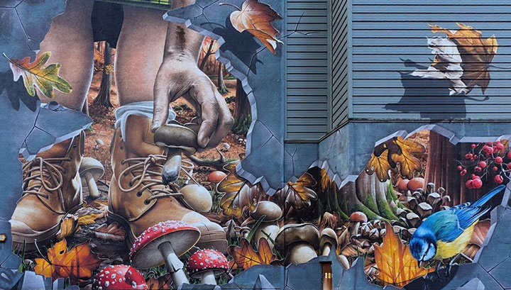 GLASGOW'S STREET ART IS WELL LOVED ON INSTAGRAM