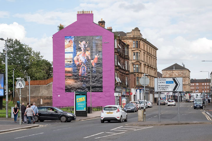Glasgow City Centre Mural Trail